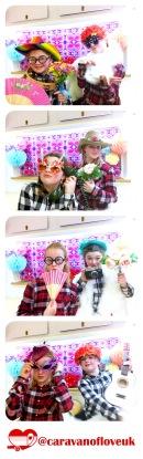 Photobooth Fun, Caravan of Love, Caravan photobooth, photobooth, vintage caravan