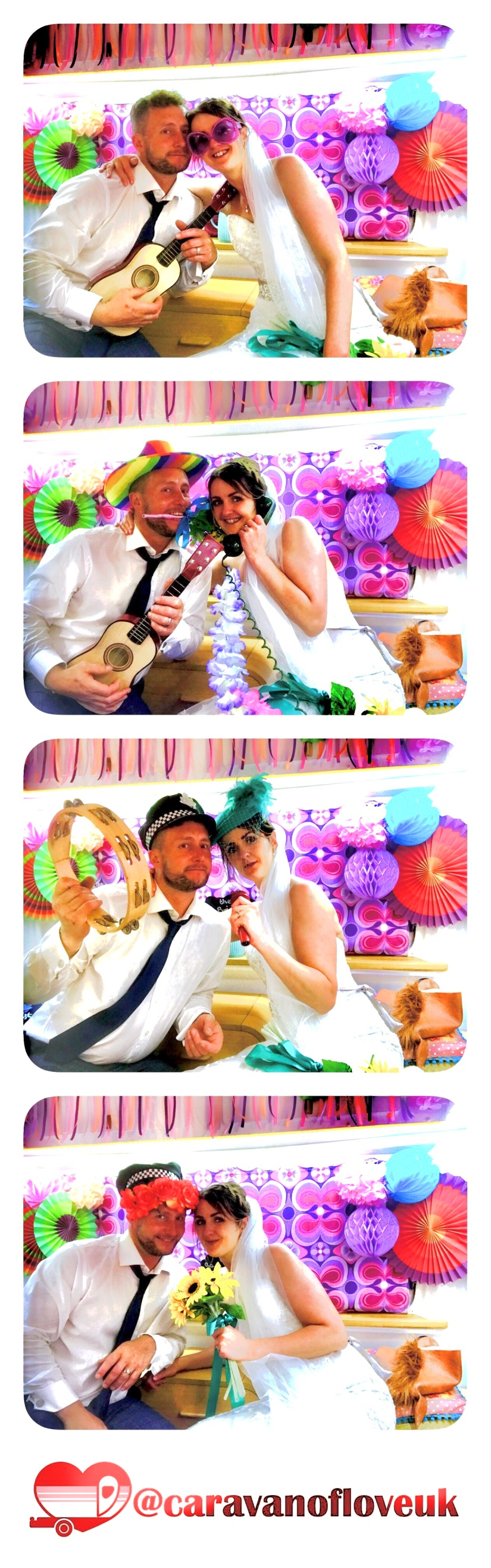 Caravan of Love, Wedding Photo Booth